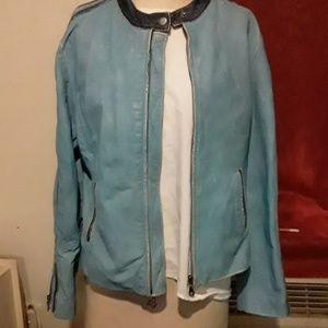 A 100 percent  leatherWilson Jacket